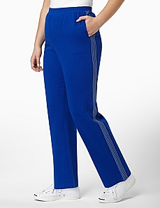 Stripe Lurex Pant by CATHERINES