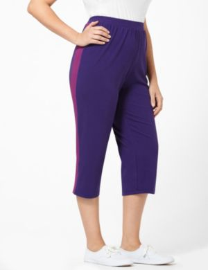Colorblock Active Capri