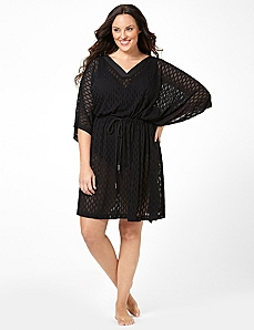 Crochet Caftan Cover-Up by CATHERINES