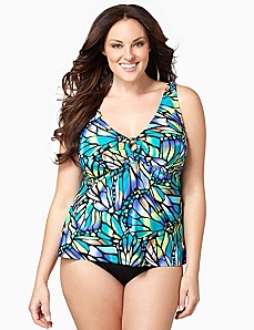 Butterfly Bliss Swim Tank by CATHERINES