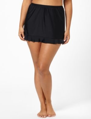Ruffled Swim Skirt
