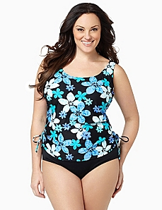 Tropical Paradise Swim Tank
