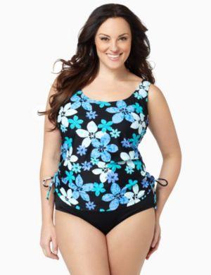 Tropical Paradise Swim Tank