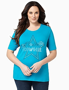 Cowgirl Starshine Top