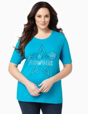 Cowgirl Starshine Top