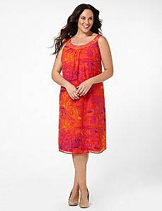Sunset Sensation Dress by CATHERINES