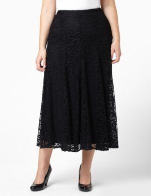 Lace Cascade Skirt