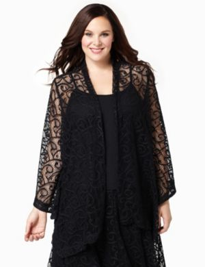Lace Cascade Jacket