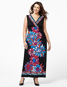 Retro Bloom Maxi by CATHERINES