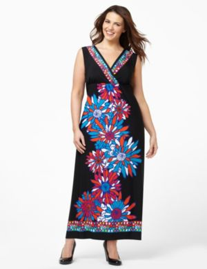 Retro Bloom Maxi