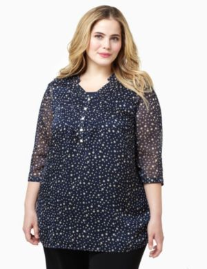Dotted Duet Top