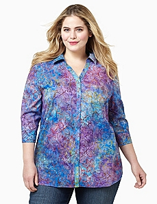 Leaves Of Color Blouse