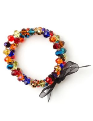 Color Crystal Bracelet Set