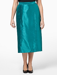 Silky Fishtail Skirt by CATHERINES