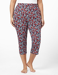 Daisy Lace Sleep Capri