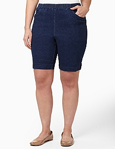 Everyday Denim Short by CATHERINES