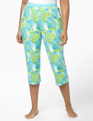 Eyelet Palm Sleep Capri