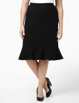 Flowy Pleat Skirt