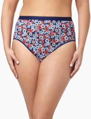 Serenada® Daisies Hi-Cut Panty