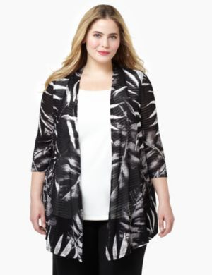 Noir Cascade Jacket