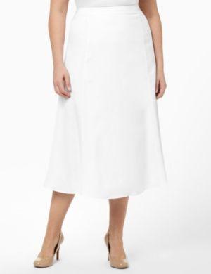 Crisp Linen Skirt