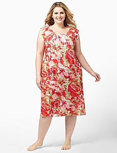 Tropical Punch Sleepshirt by CATHERINES