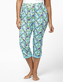 Feather Edge Sleep Capri