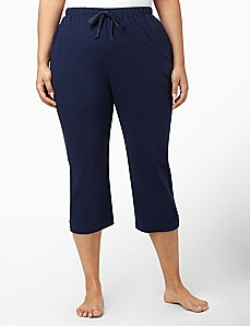 Lace Comfort Sleep Capri