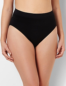 Serenada® Shadow Stripe Seamless Panty