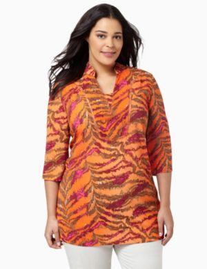 Bright Tiger Tunic