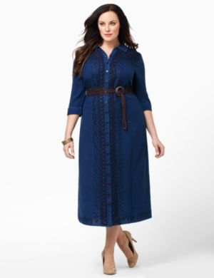Sidescroll Belted Dress