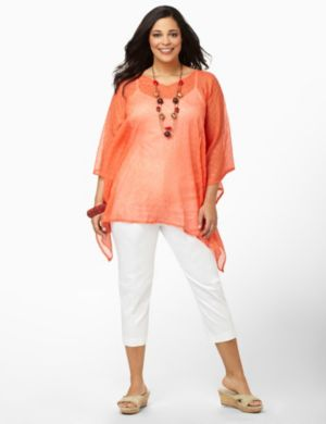 Dotted Glow Poncho
