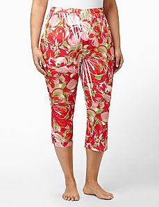 Tropical Punch Sleep Capri by CATHERINES
