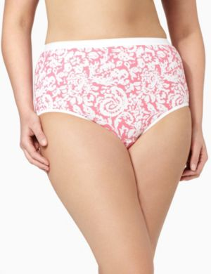 Serenada® Stamped Paisley Brief