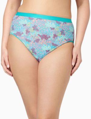 Serenada® Floral Hi-Cut Panty