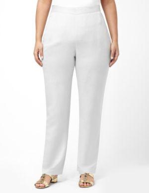 Crisp Linen Pant