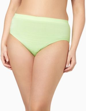 Serenada® Seamless Shadow Stripe Panty