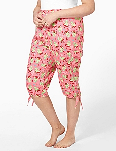 Frogs Cargo Sleep Capri