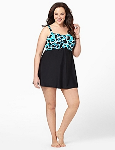 Contempo Circle Swimdress by CATHERINES