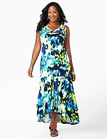Riverbank Hi-Low Dress