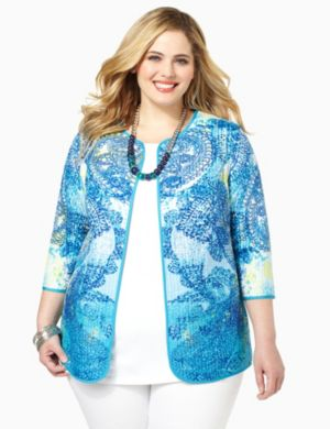 Paisley Reversible Jacket