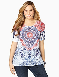 American Medallion Tee by CATHERINES