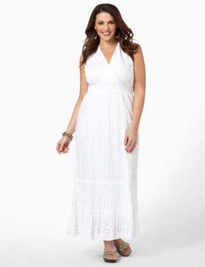 Airy Eyelet Dress