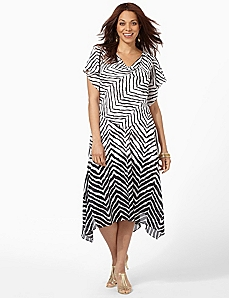 Serengeti Flutter Dress