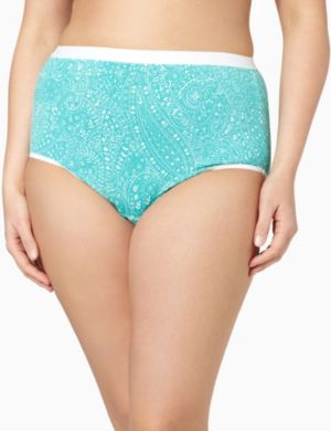 Serenada® Dotted Paisley Brief