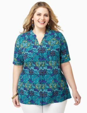 Blue Tropics Shirt