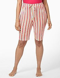 Stripe Bermuda Sleep Short
