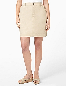 Embroidered Skort by CATHERINES