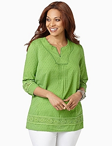 Swiss Dot Tunic