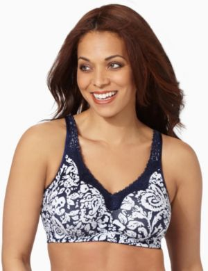 Serenada® No-Wire Cotton Comfort Bra